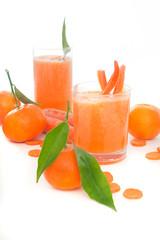 Obst und Gemüse Smoothies