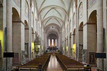 Dom Mainz Innenaufnahme