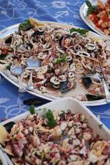 Octopus, italian seafood