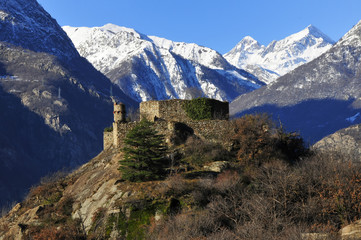 Castle in Aosta Valley