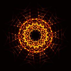 Abstract cosmic fireball