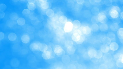 Blurred Blue Sparkles Background