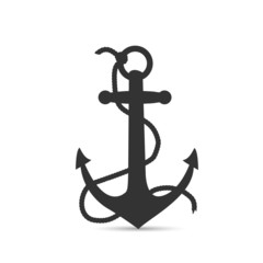 Anchor Silhouette Illustration