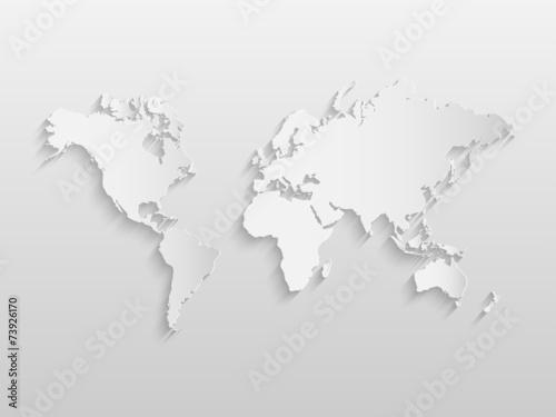 World Map Illustration - 73926170