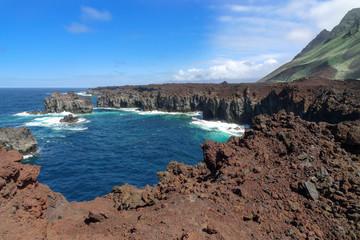 El Hierro - Felsenküste an der Punta de La Dehesa