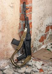 AK-47 with folding butt