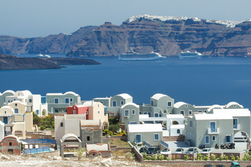 Private houses in Santorini