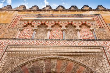Side gate of Mezquita-Catedral, Cordoba (Spain)