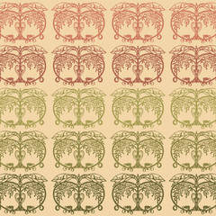 apples pattern background