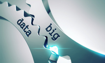 Big Data Concept on the Gears.
