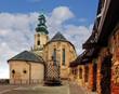Slovakia - Nitra Castle at day