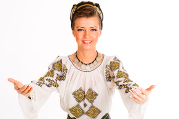 romanian folklore clothes traditional