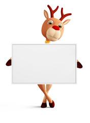 3d reindeer for christmas