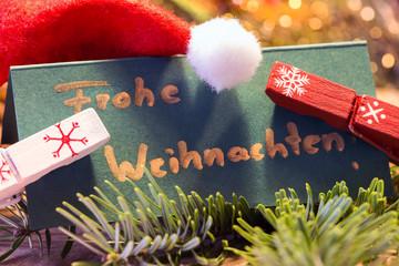 Weihnachtsgrusskarte