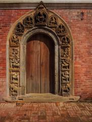 Door at Bhaktapur, Nepal