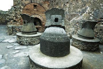 Antique bakery in Pompeii