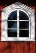 canvas print picture - Holzfenster