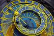Leinwanddruck Bild - Astronomical clock in Prague
