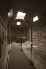 Roman Baths in Pompeii, Thermae