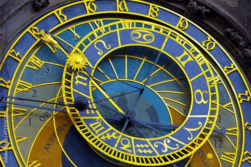 Fototapeta Astronomical clock in Prague