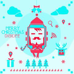 Christmas card Smartwatch