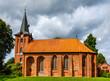 canvas print picture - St.-Mauritius-Kirche in Altenmedingen