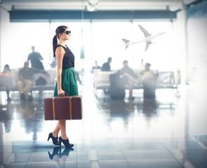 Luxury airport