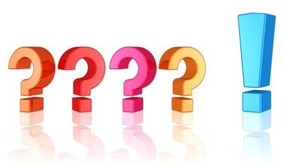 viele Fragen und eine klare Antwort