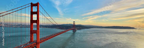 Deurstickers Openbaar geb. Golden Gate Bridge