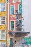 Neptun monument in Gdansk, Poland.