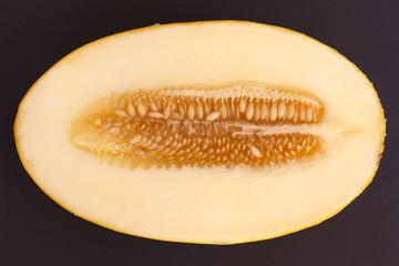 One half of melon