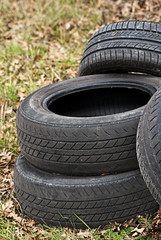 Tires Dumped ,Garbage, Environmental Damage