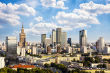 Warsaw business district - Fine Art prints