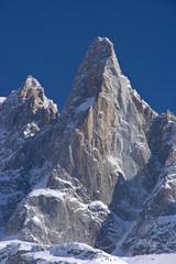 Dru mountain of mont blanc massif