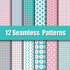 Vector of Seamless patterns
