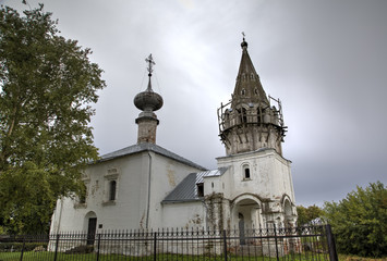 Церковь Иоанна Предтечи. Суздаль, Золотое кольцо России.