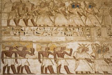 Hieroglyphics in Karnak