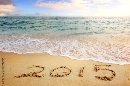 canvas print picture New year 2015