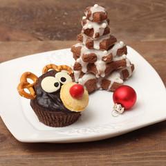 Christmas homemade muffins