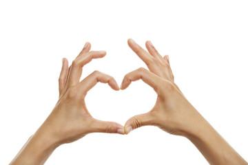 Handzeichen Herz 3