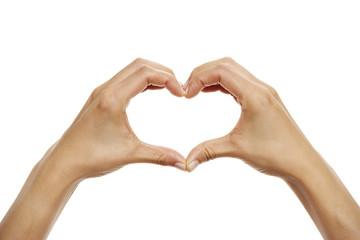 Handzeichen Herz 4