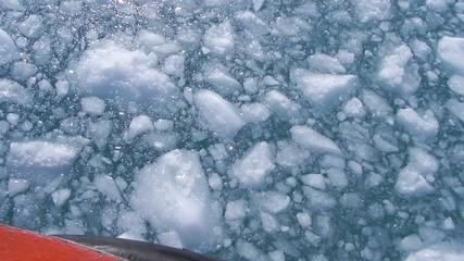 ice breaker in Greenland