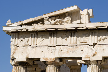 Parthenon of Athens Greece at Acropolis Hill