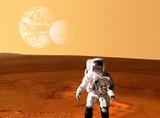 Astronaut Spaceman Mars Space