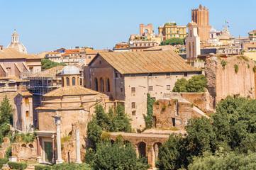 Roman Forum in Rome Italy