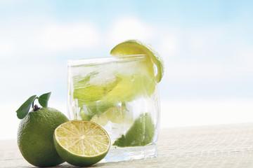 Mojito cocktail drink