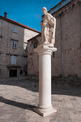 Sculpture in Trogir