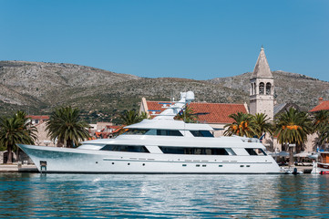 Luxury boat in Trogir