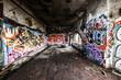 Leinwandbild Motiv Graffiti