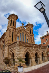 Church at Villaspesa, Teruel, Aragon, Spain